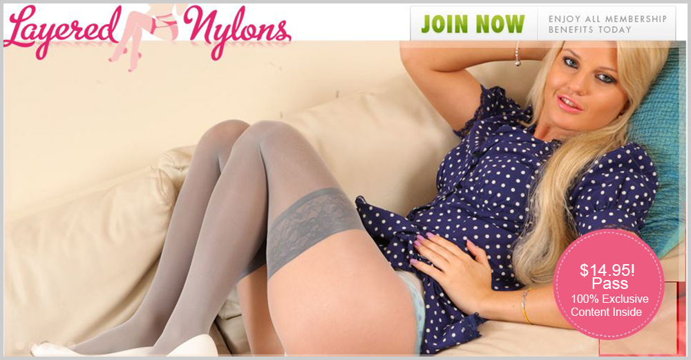 Layered Nylons Discount: Down From $24.95 Month To Only $14.95! How About That $10 Saving!